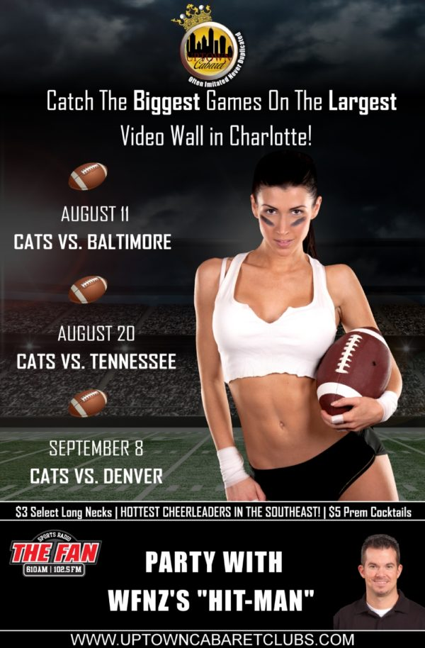 Charlotte Football Uptown Cabaret